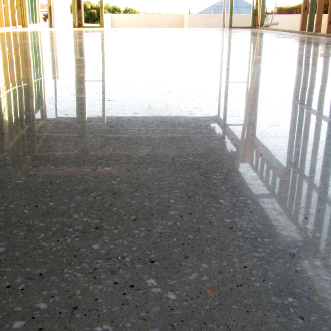 types of polished concrete